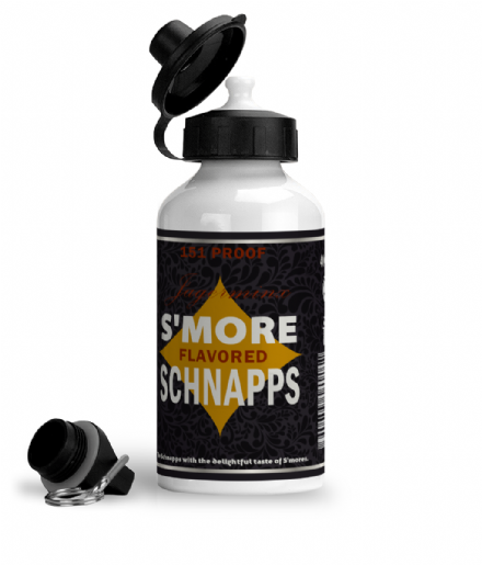 S'more Flavoured Schnapps Aluminium Sports Water Bottle  from South Park